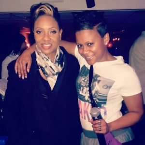 Saturday Night's House Party Host Kels with MC Lyte in RVA!