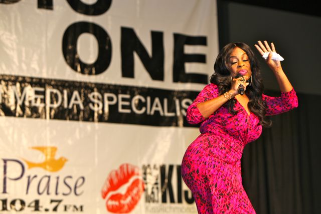 Niecy Nash At Women's Empowerment 2014