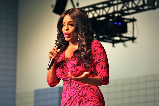 Niecy Nash At Women's Empowerment 2014