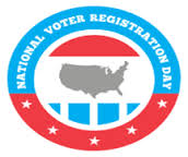 NATIONAL VOTER REG DAY SEPT 19 2014