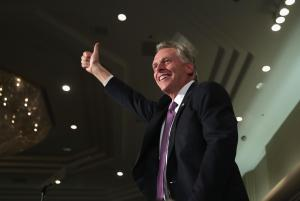 Virginia Gubernatorial Candidate Terry McAuliffe Hosts Election Night Gathering