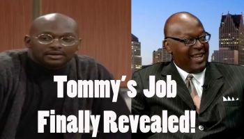Tommy's job revealed