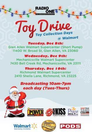 Radio One Toy Drive