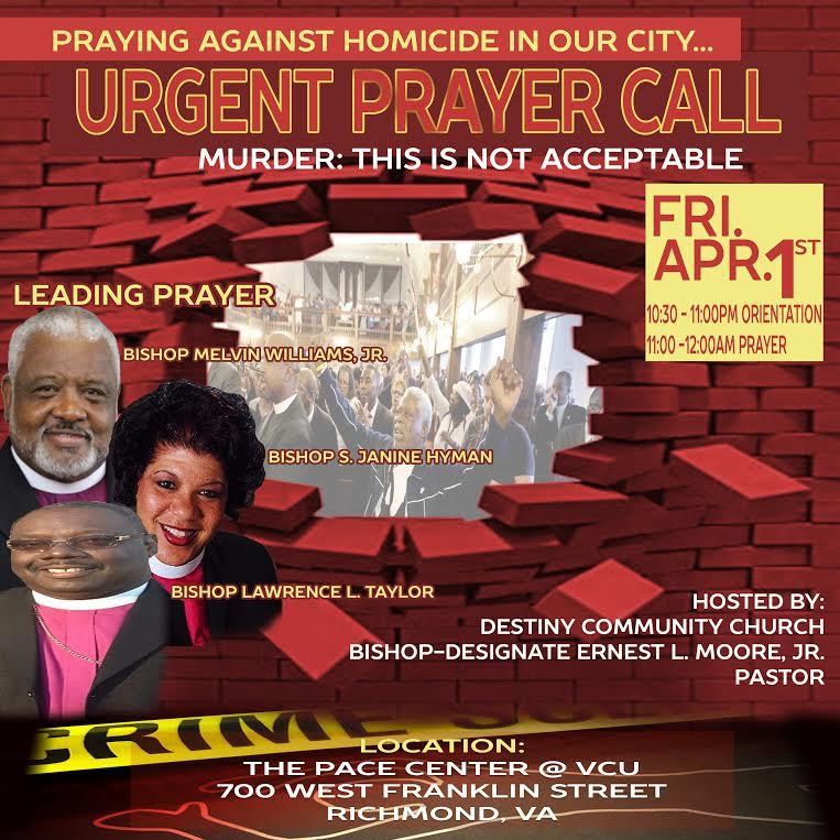 URGENT PRAYER CALL