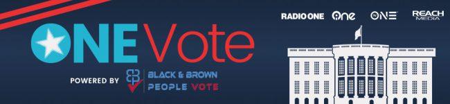 One Vote page header