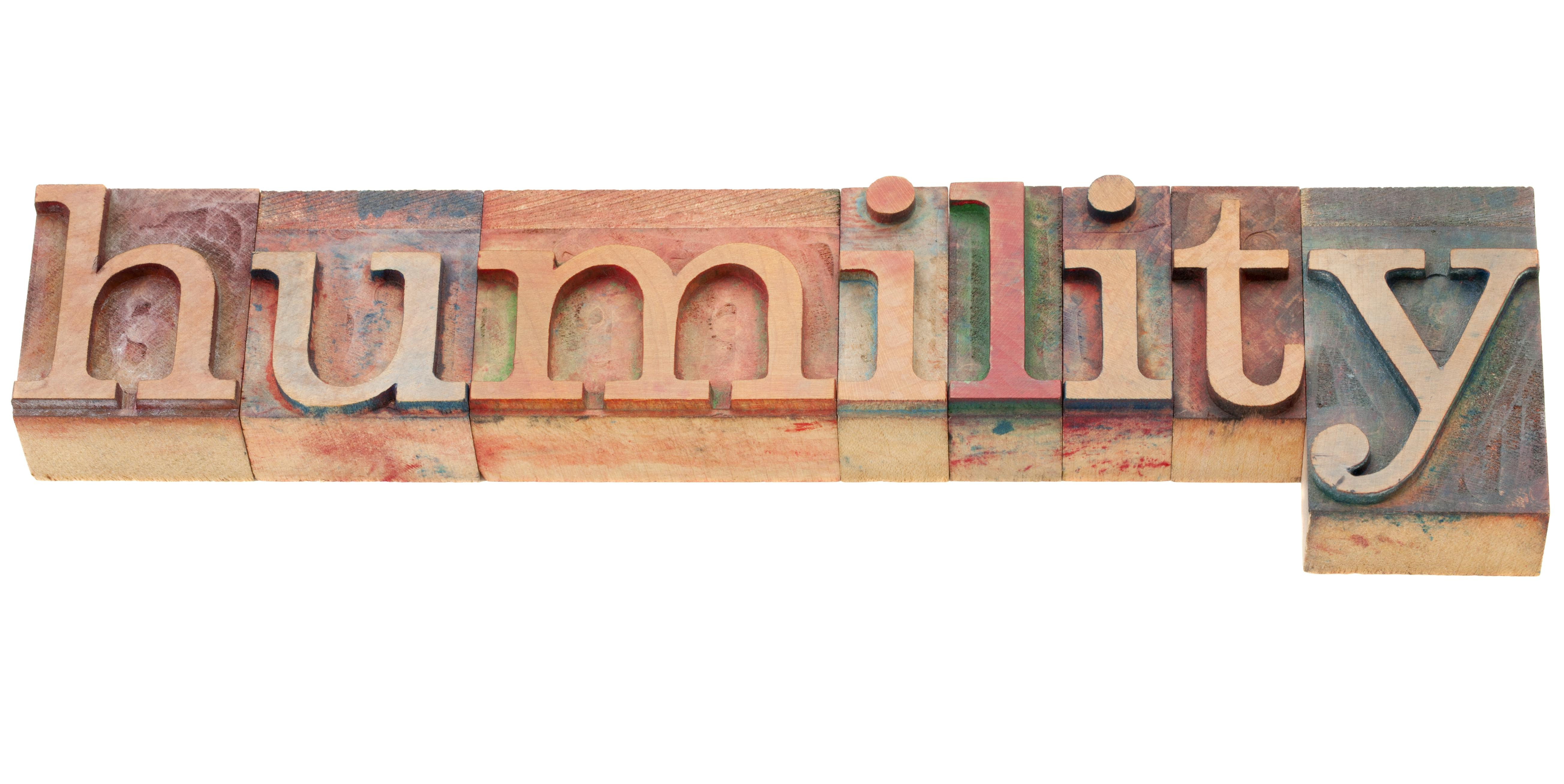 isolated word in vintage wood letterpress printing blocks