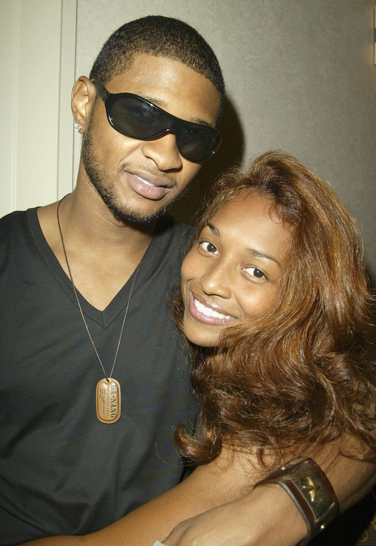 Usher and 'Chilli' Thomas