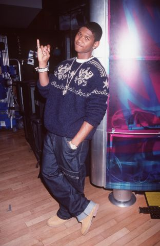 Usher At The MTV Celebrity Dream Date