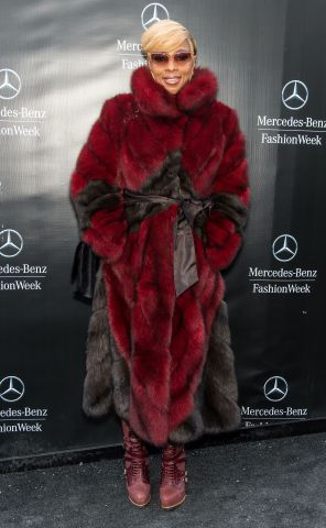 Celebrity Sightings - February 16, 2015 - Fall 2015 Mercedes-Benz Fashion Week