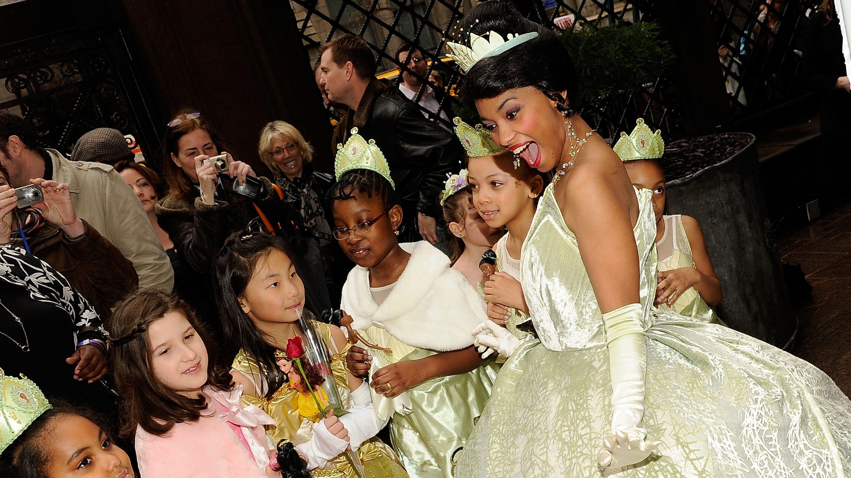 Princess Tiana's Official Induction Into The Disney Princess Royal Court