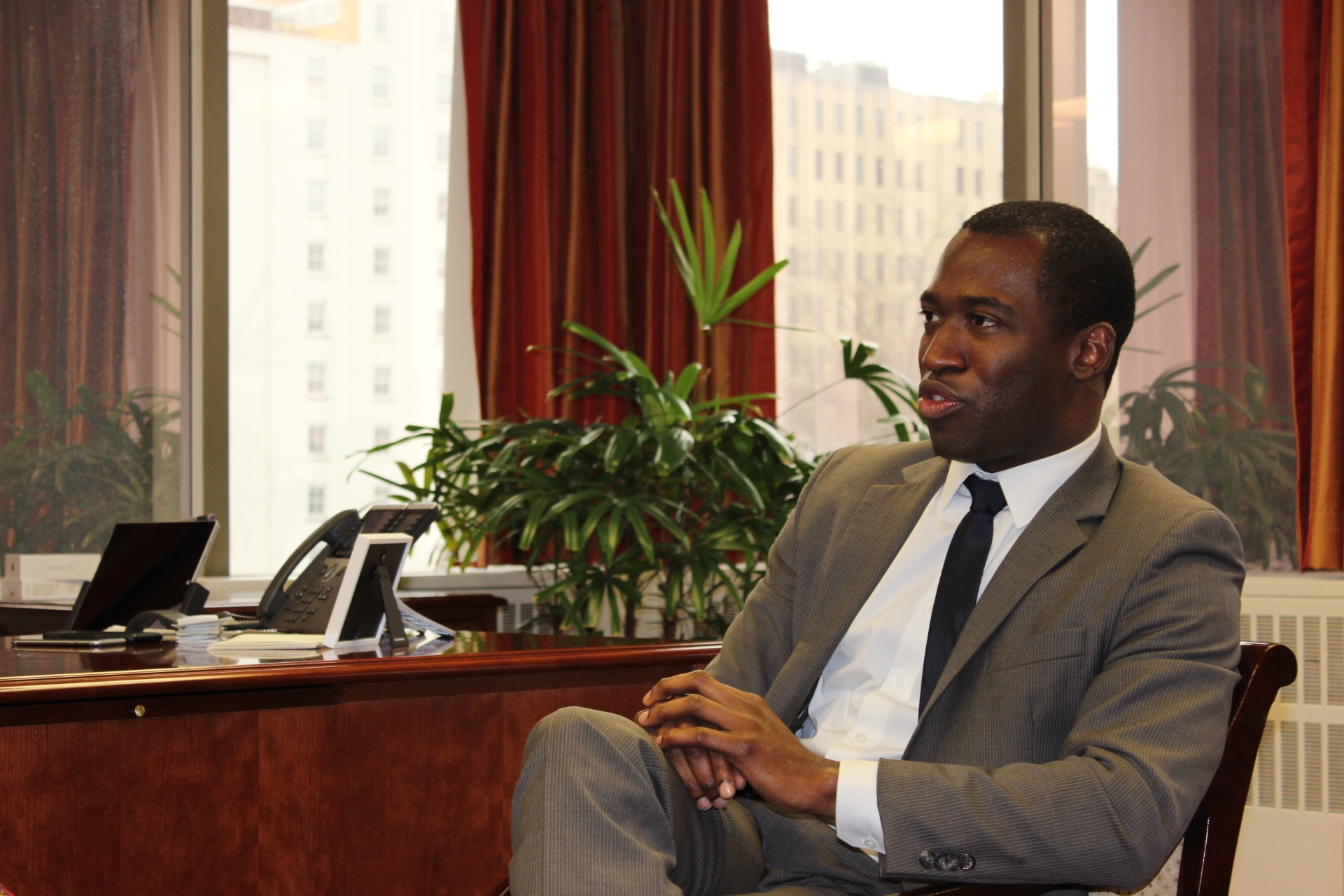 or stoney hires convicted embezzler as his executive assistant interview or levar stoney