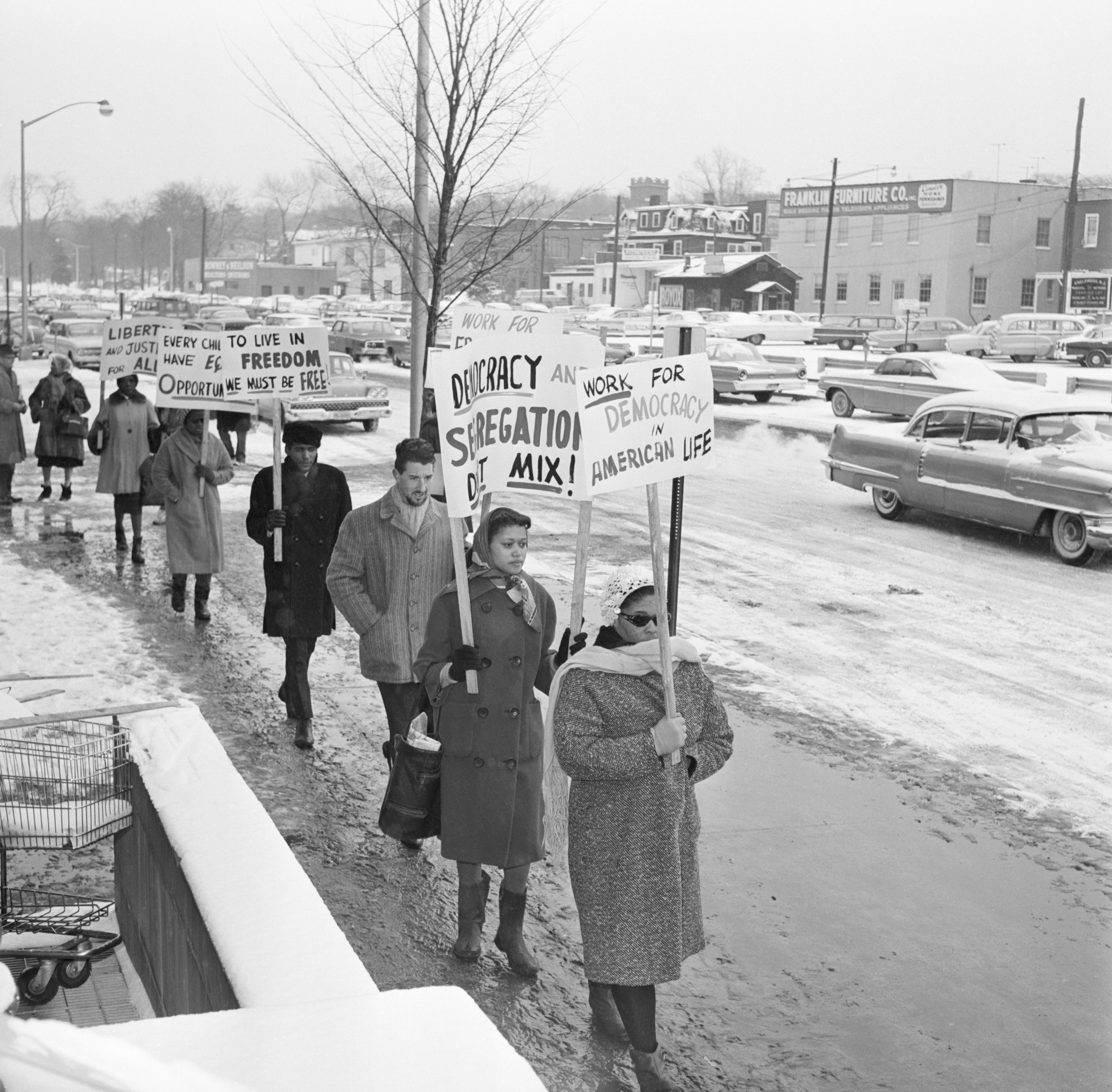 Segregation Protest In Englewood, NJ