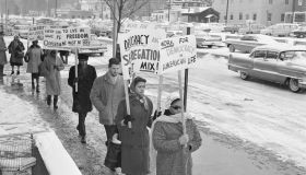 Segregation Protest In Englewood, NJ