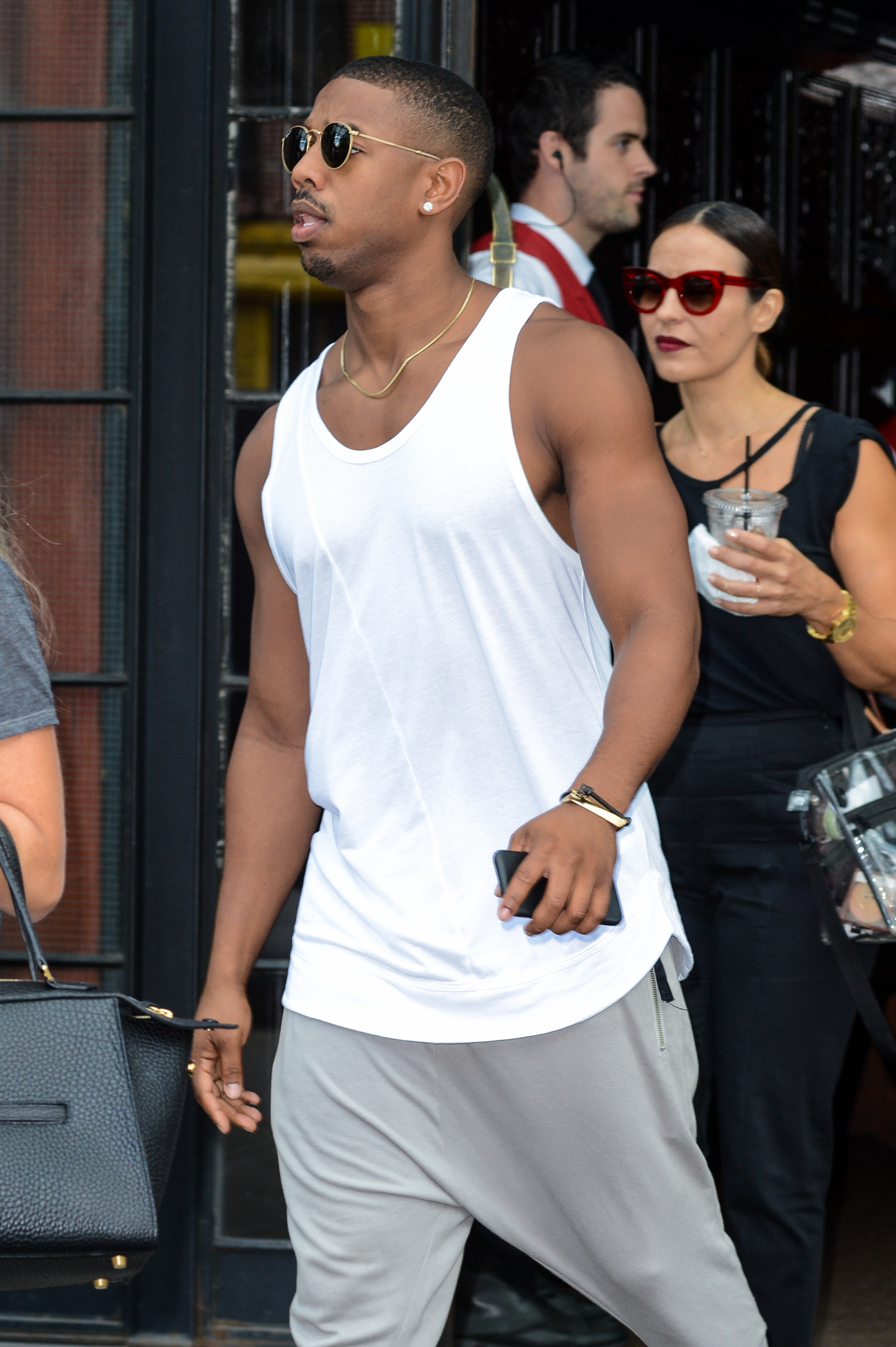 Celebrity Sightings In New York City - August 05, 2015
