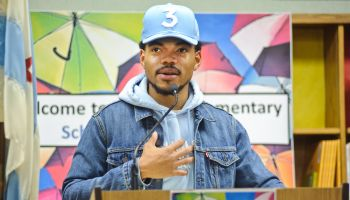Chance The Rapper Holds A Press Conference In Support Of Chicago Schools
