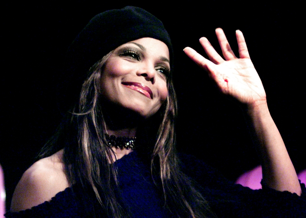 Janet Jackson at Radio Station