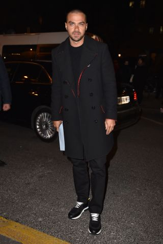 Celebrity Sightings : Day Three - Paris Fashion Week - Menswear Fall/Winter 2017/2018
