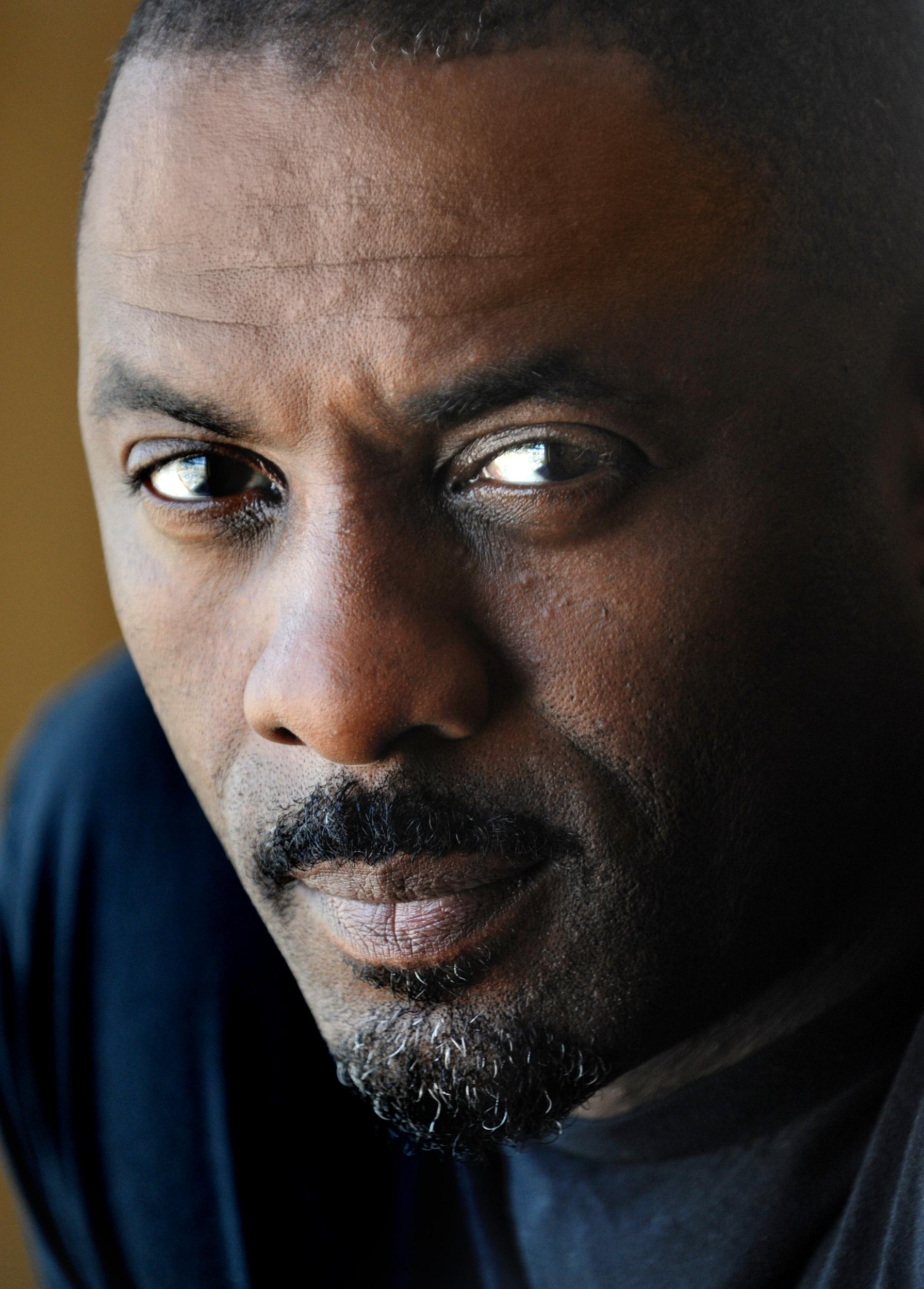 Actor Idris Elba, in town promote his latest film, in Washington, DC.