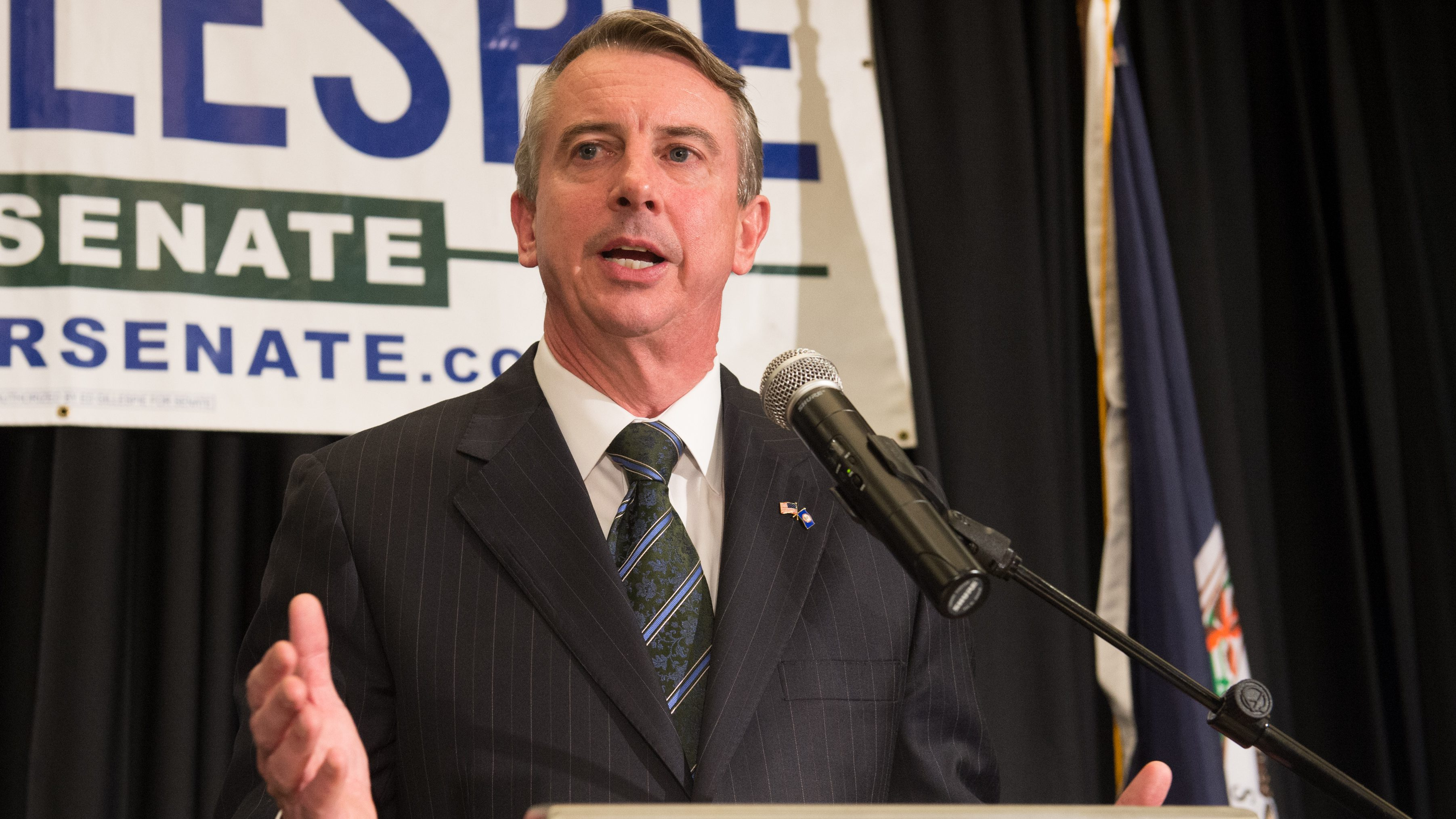 Virginia Senate Race Ed Gillespie