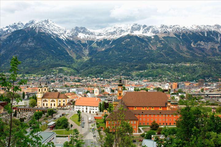 View over Innsbruck, Austria
