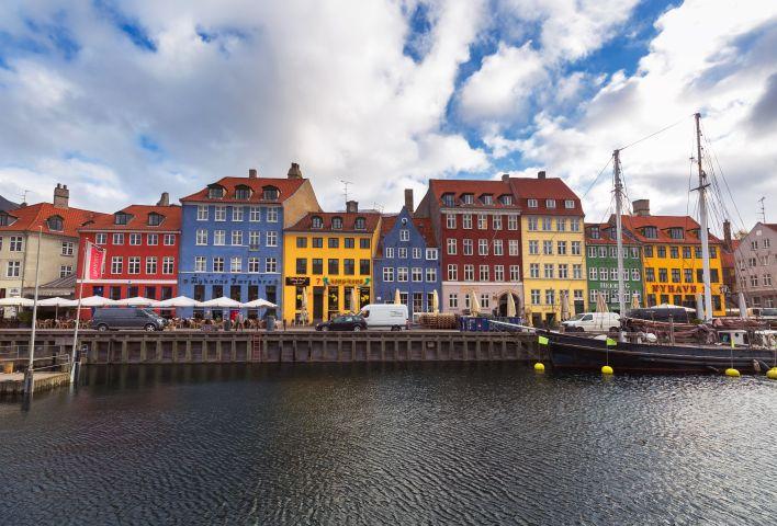 Copenhagen old town city