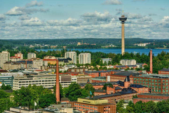 City skyline, Tampere, Finland