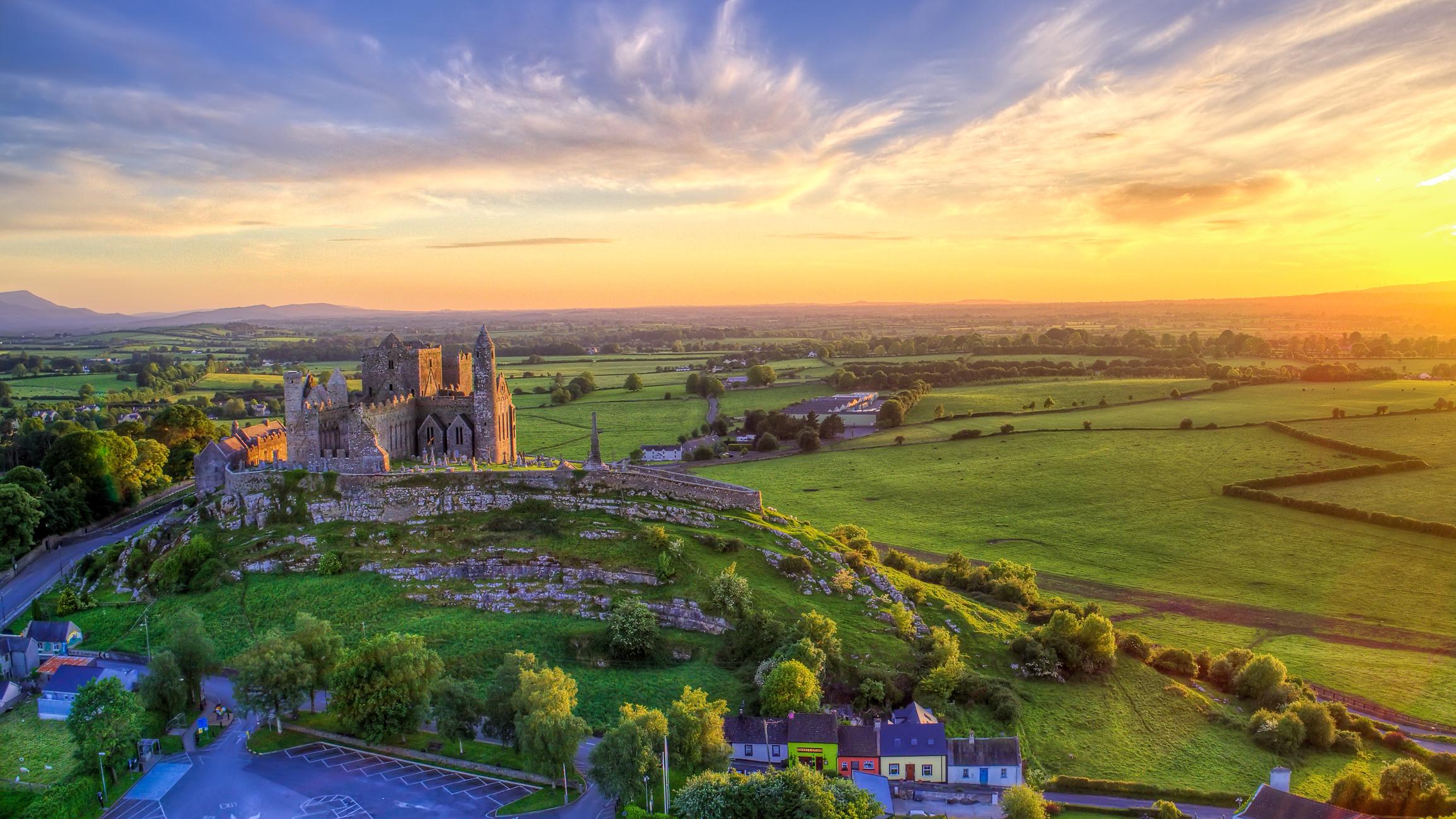 Rock of Cashel castle, Co. Tipperary, Ireland