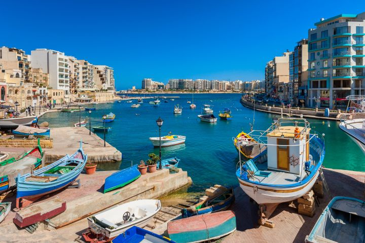 St. Julian's Bay Malta