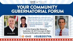 Gubernatorial Forum