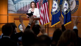 House Minority Leader Nancy Pelosi...