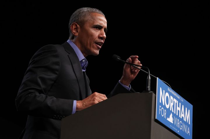 Barack Obama Campaigns With Democratic Gubernatorial Candidate Ralph Northam