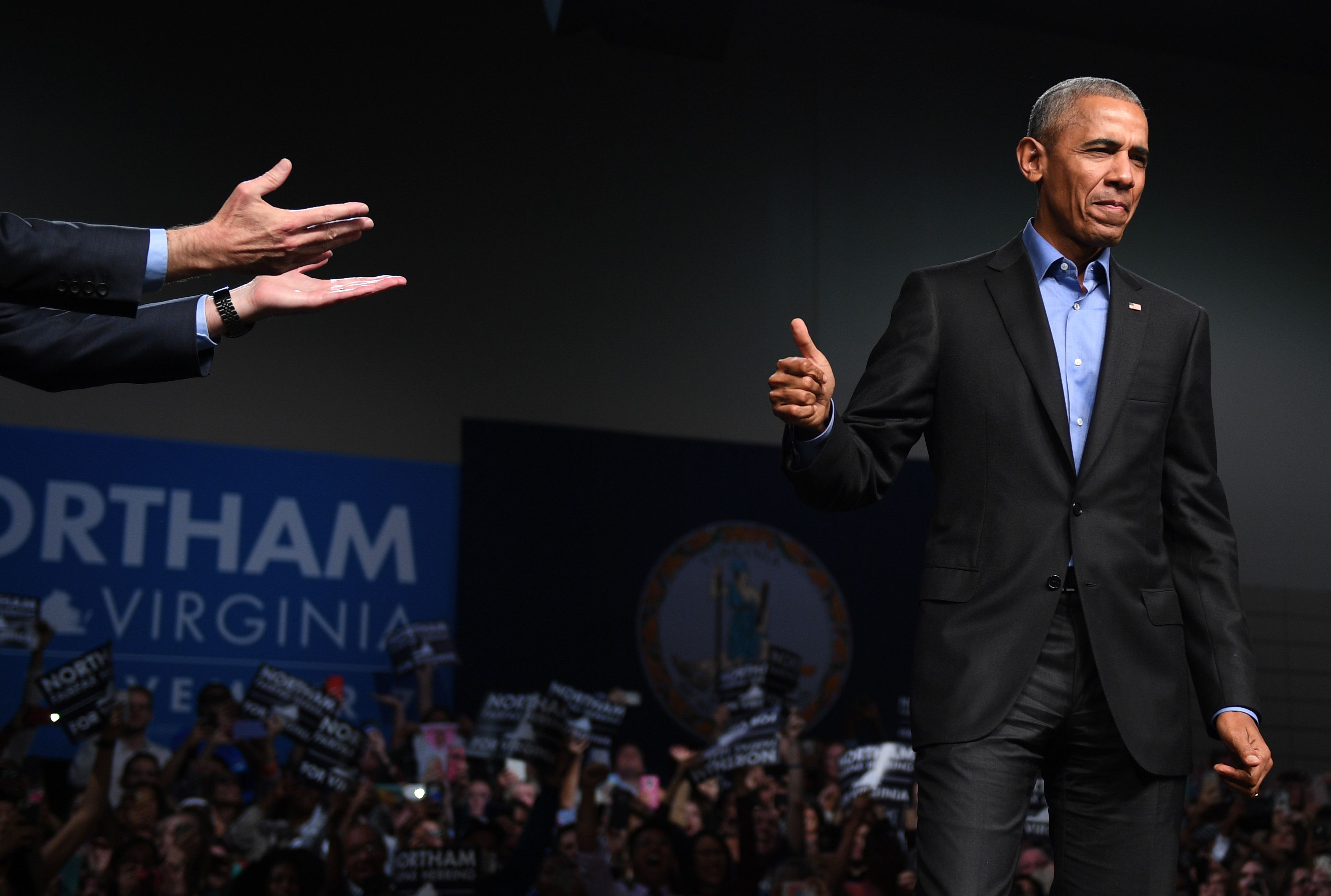 TOPSHOT-US-POLITICS-OBAMA-NORTHAM