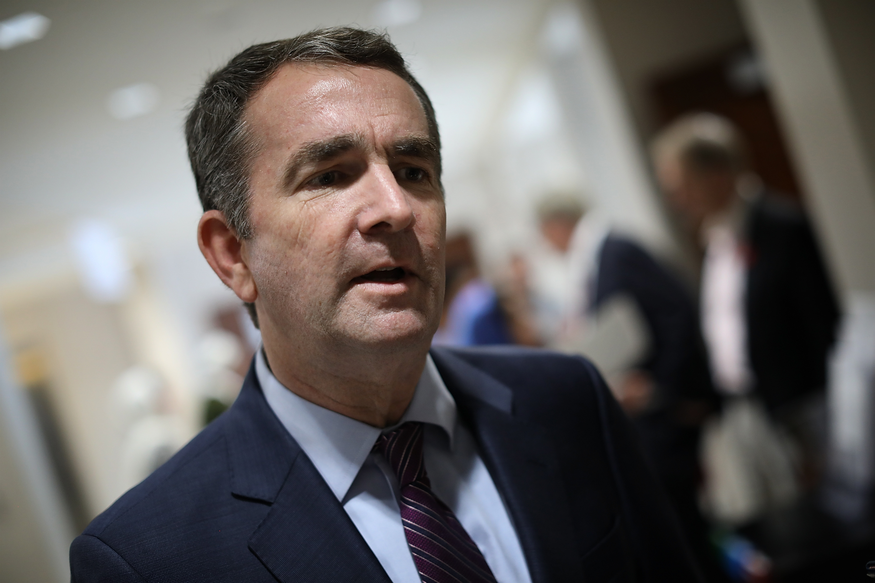 Democratic Gov. Candidate Ralph Northam Attends Friday Prayers At VA Mosque