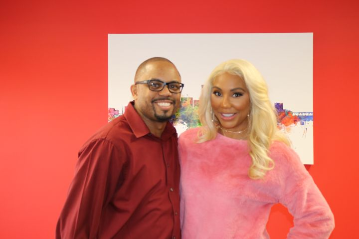 Tamar Braxton Meet & Greet - Radio One Richmond
