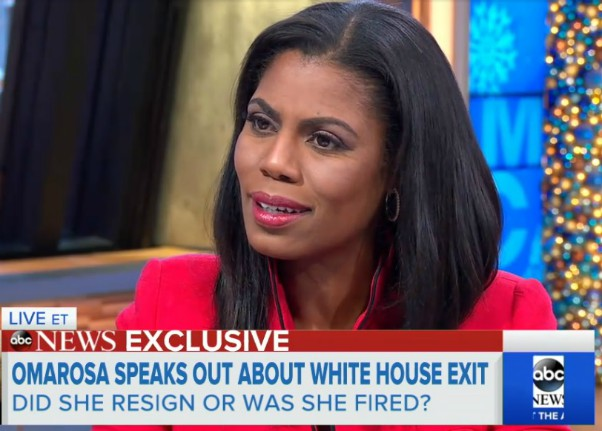 Omarosa Manigault-Newman Good Morning America