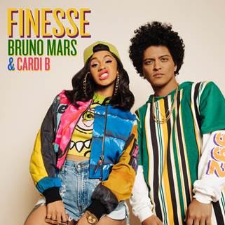 "Bruno Mars feat. Cardi B ""Finesse"" Cover Art"