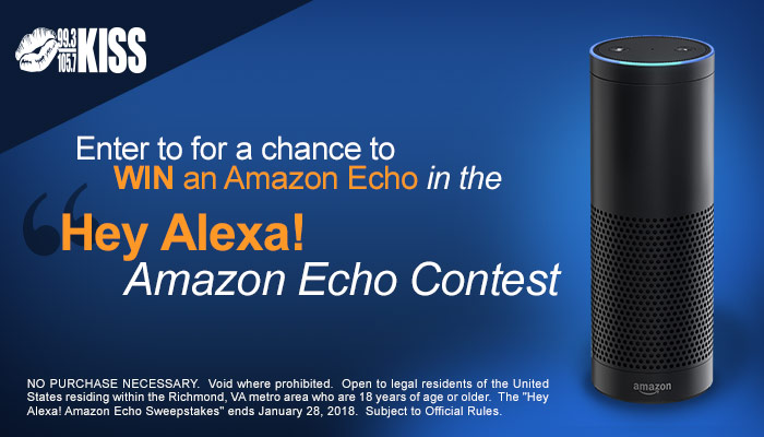 Amazon Echo Giveaway RICHMOND Q1 2018
