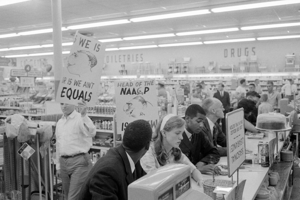Protesters at a Lunch Counter