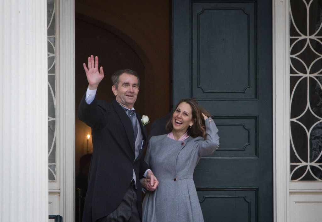 Ralph Northam is inaugurated Governor of Virginia in Richmond.