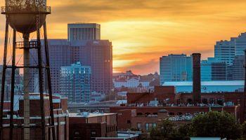 Burning Skies - Urban Sunset