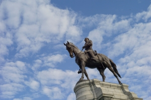 Robert Lee statue in Richmond, Virginia.