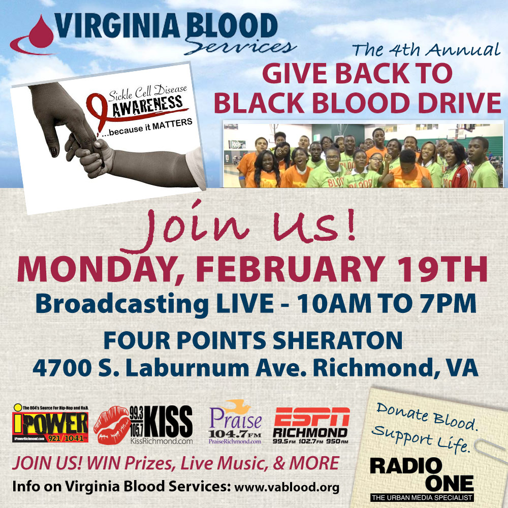 Give Back To Black Blood Drive