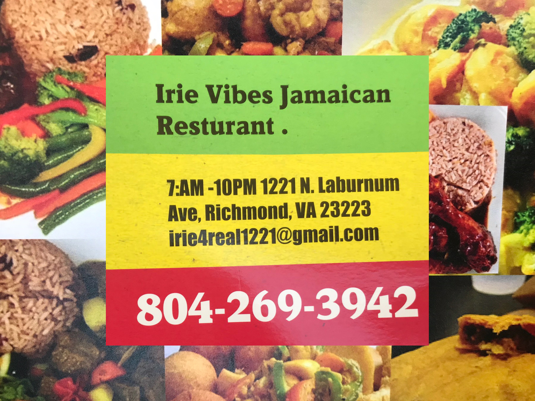Irie Vibes Jamaican Restaurant