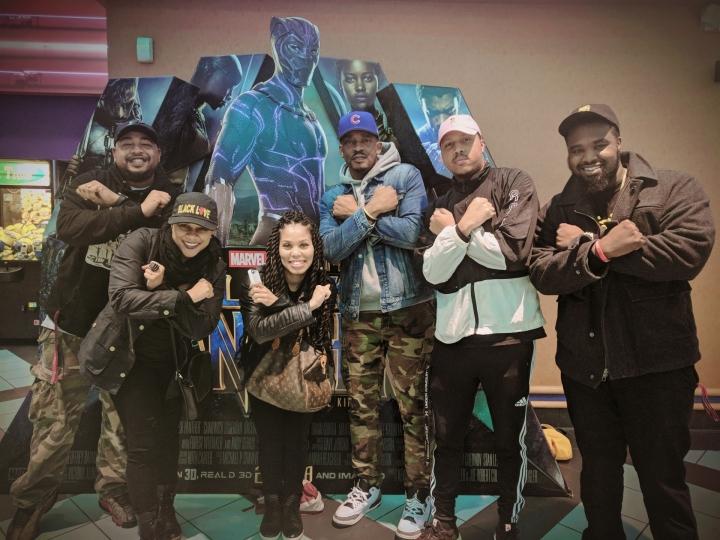 Black Panther Premiere – Radio One Richmond