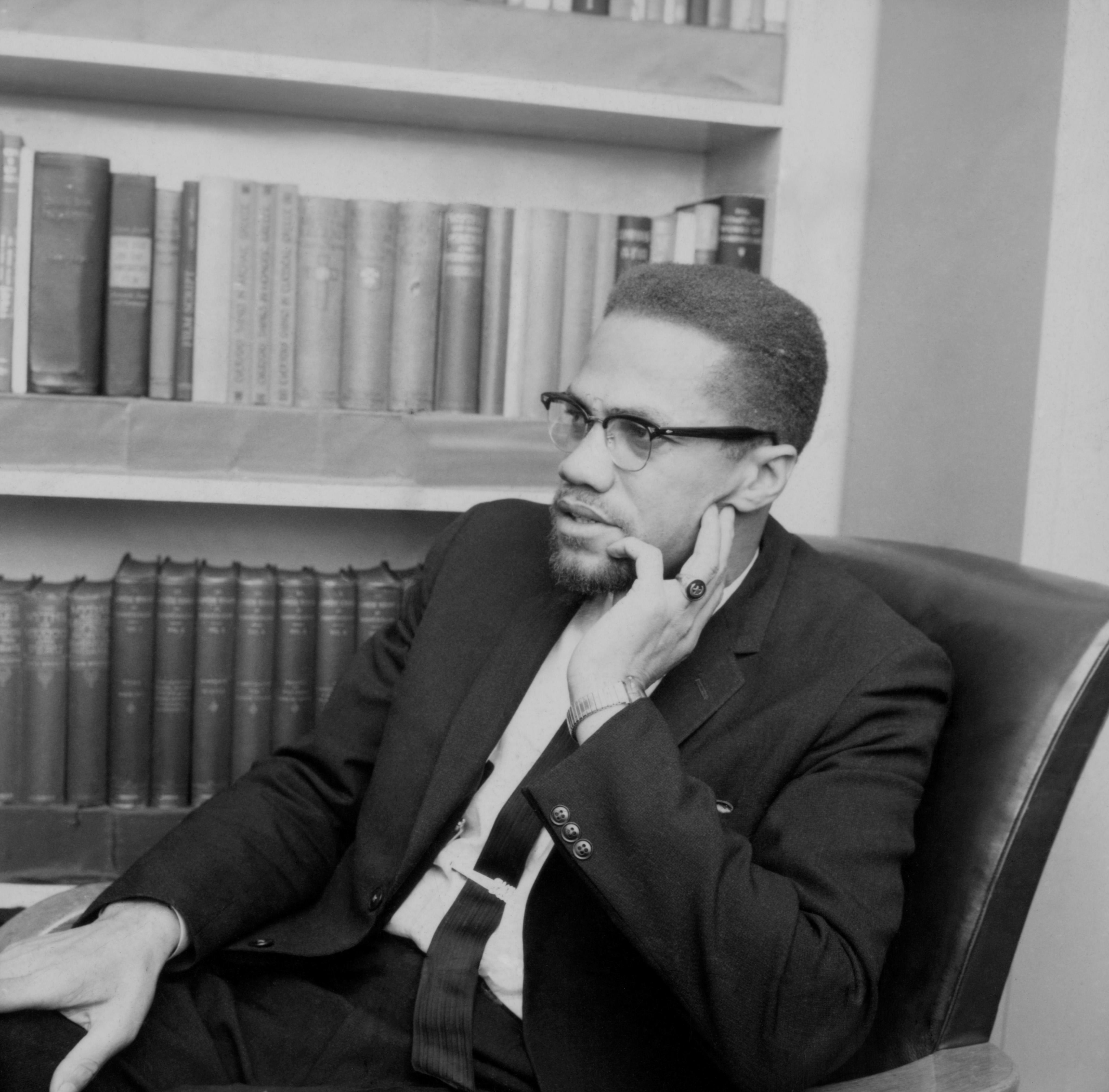 Politics - Malcolm X - BBC TV - 'The Negro in America' - London - 1964