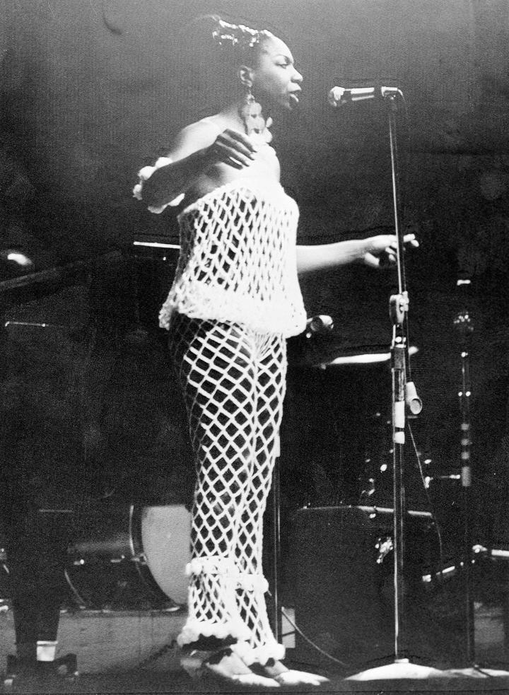 Nina Simone at the Newport Jazz Festival