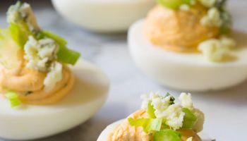 Buffalo Ranch Deviled Eggs Recipe