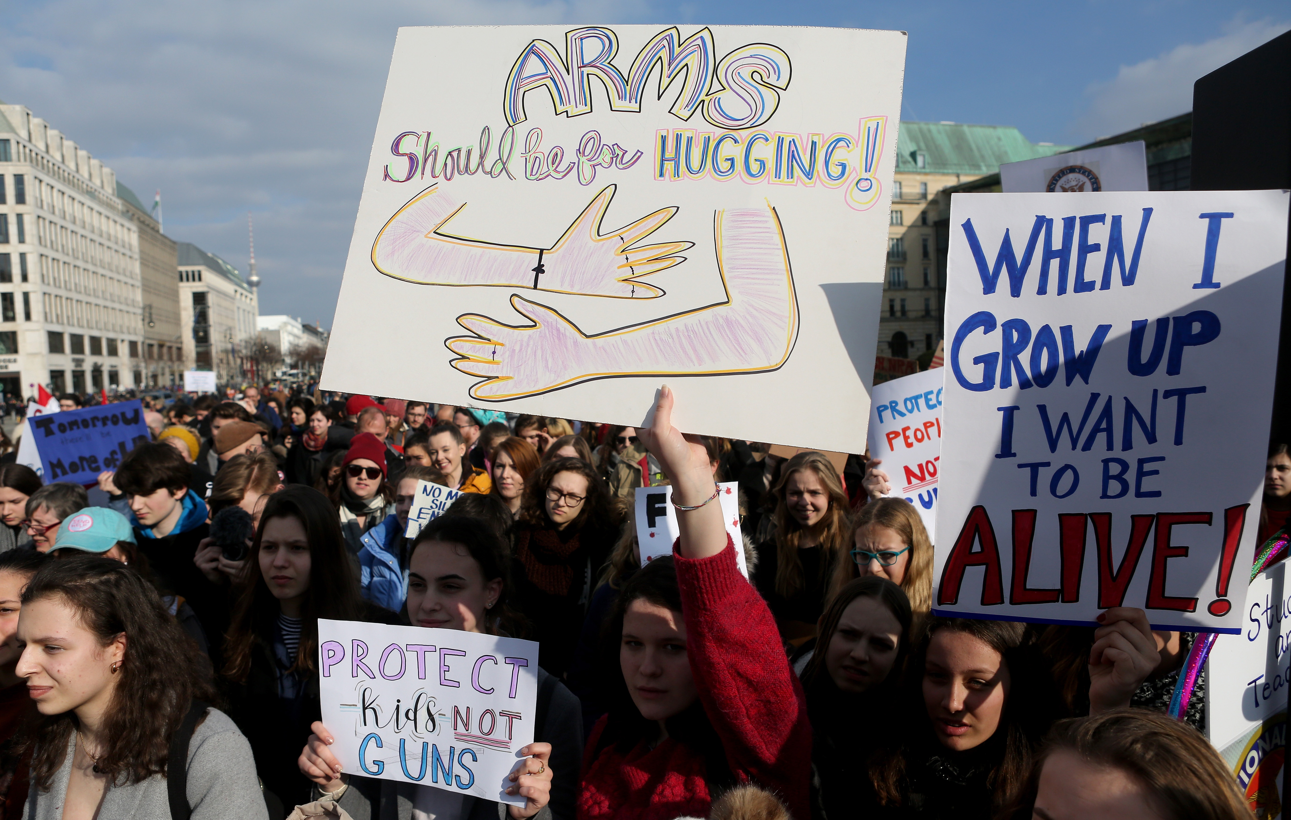 'March For Our Lives' Rally In Berlin
