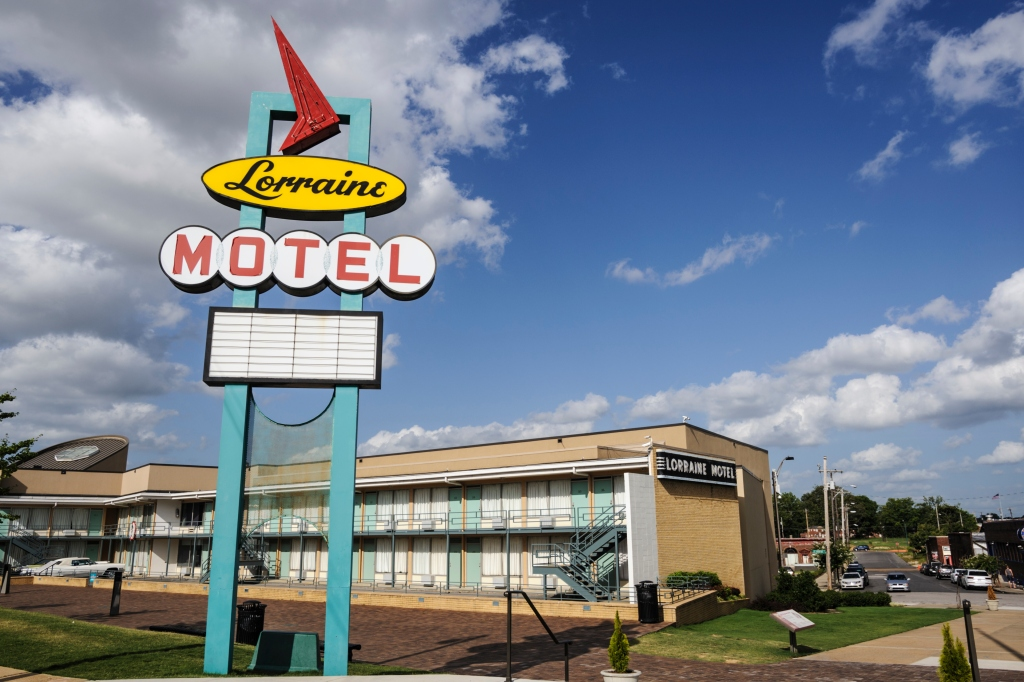 The Lorraine Motel, Memphis, Tennessee, USA