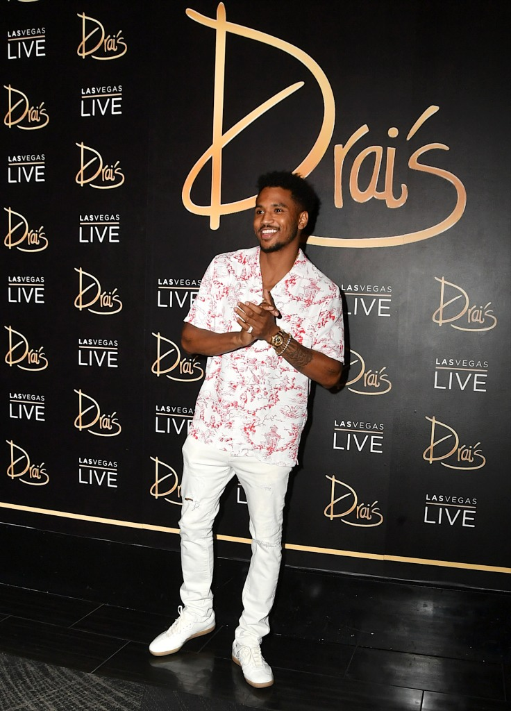Trey Songz Performs At Swim Night At Drai's Beach Club - Nightclub In Las Vegas